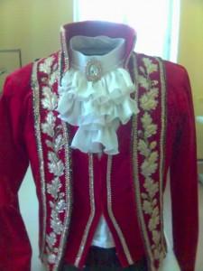 мужской балетный костюм
