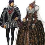 костюм возрождения