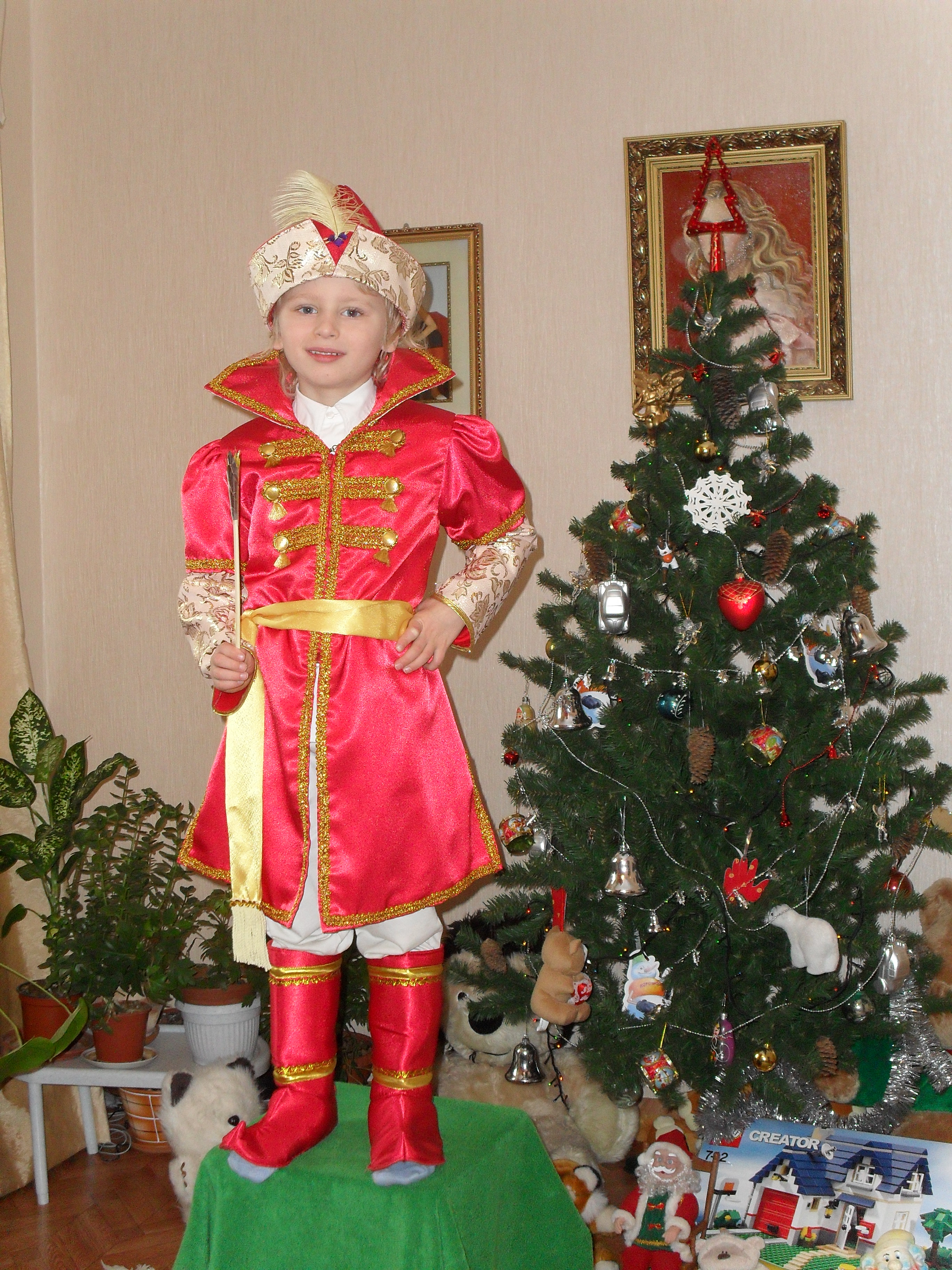 Костюм новогодний на мальчика