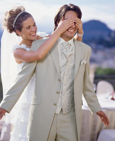 свадебный жилет