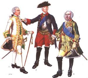 Солдаты Петра I